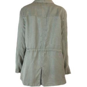 Max Jeans Jackets & Coats - Max Jean M Olive Duster Jacket